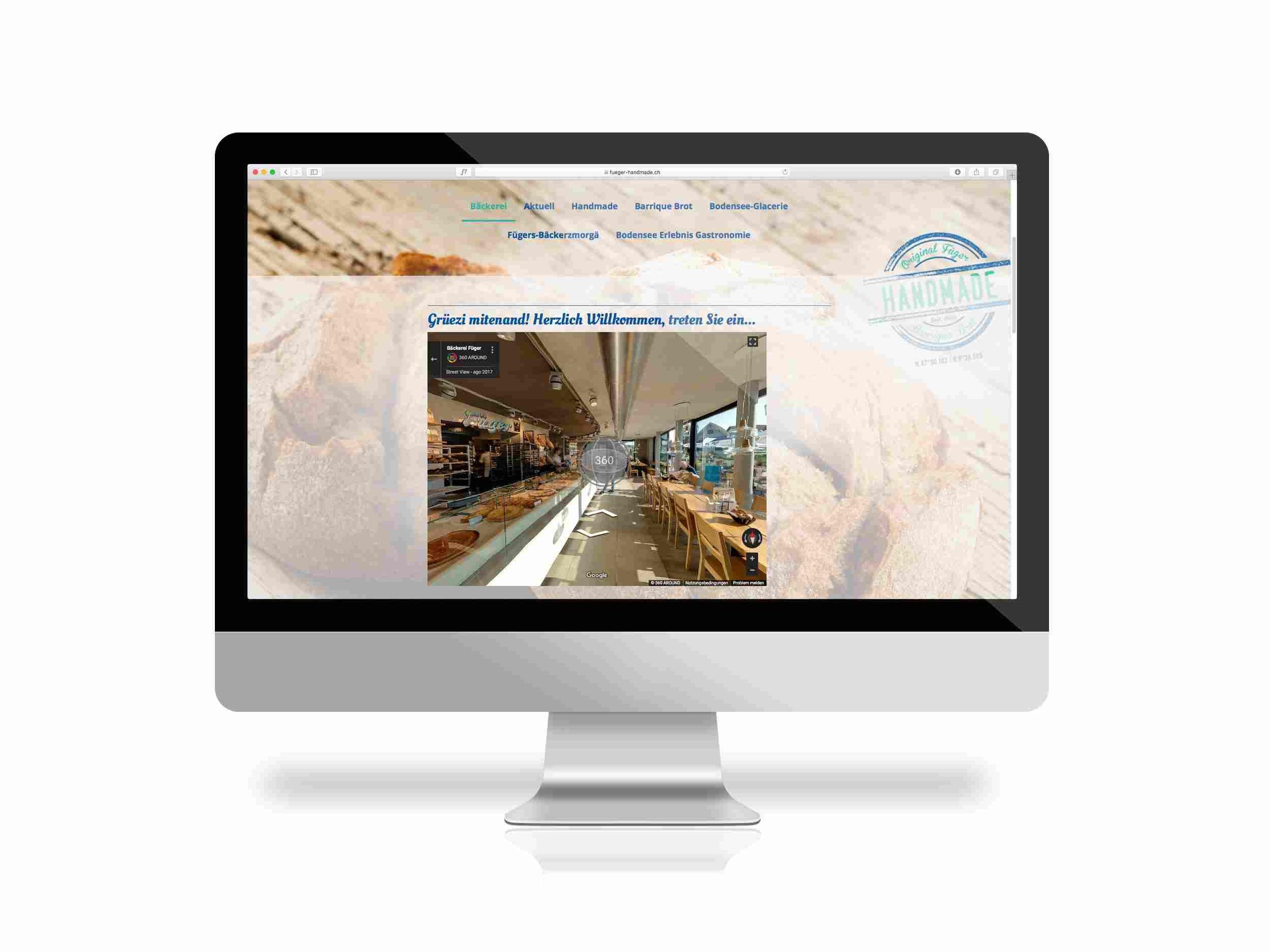 360 Grad Webseite